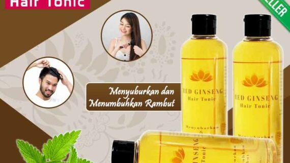 Review Hasil Pemakaian Red Ginseng Hair Tonic
