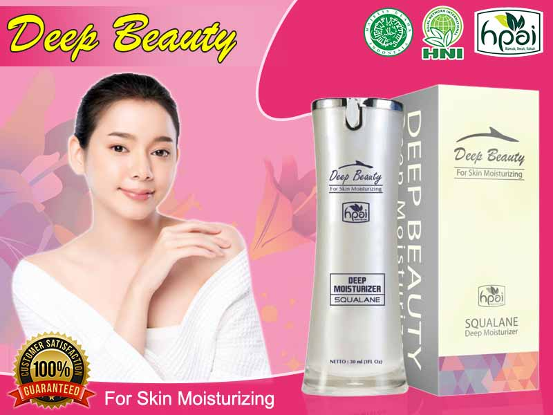 Manfaat Deep Beauty For Skin Moisturizing Asli