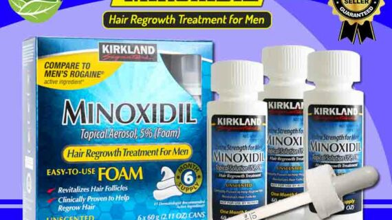 Kegunaan Minoxidil Asli Untuk Menumbuhkan Rambut