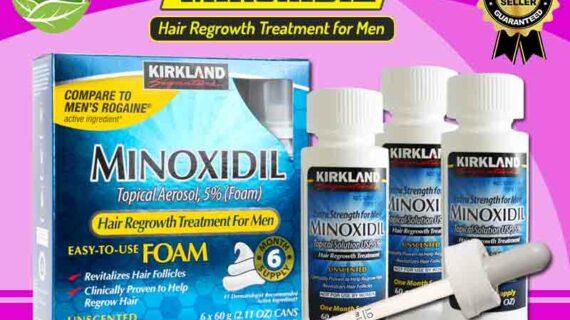 Jual Kirkland Minoxidil Obat Penumbuh Rambut di Raja Ampat