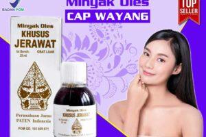 Jual Minyak Oles Khusus Jerawat Cap Wayang di Lasusua