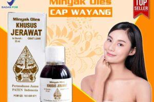 Jual Minyak Oles Khusus Jerawat Cap Wayang di Alor