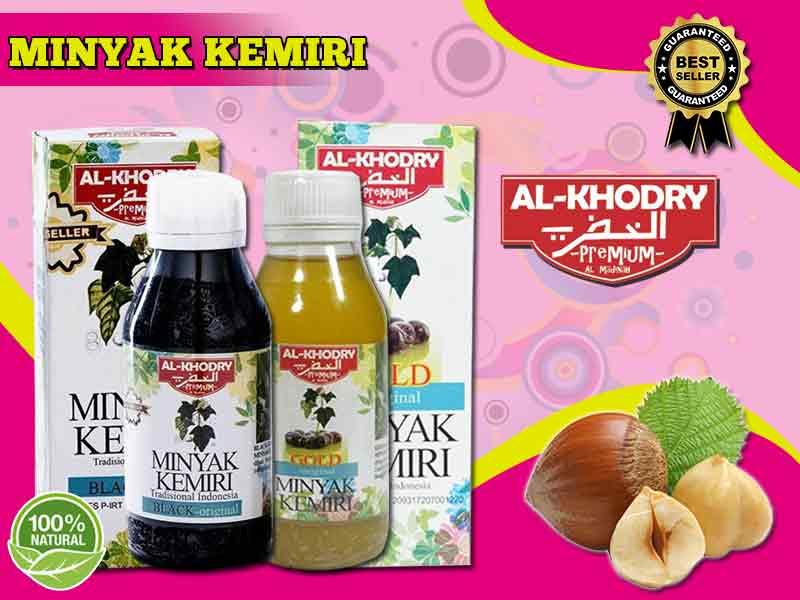 Jual Minyak Kemiri Al-Khodry Penyubur Rambut di Makassar
