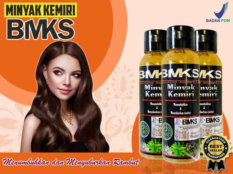 Jual Minyak Kemiri BMKS Penyubur Rambut di Wamena