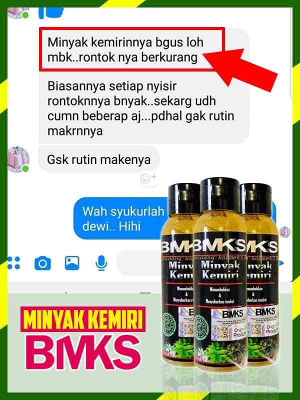 Jual Minyak Kemiri BMKS Penumbuh Rambut di Dompu