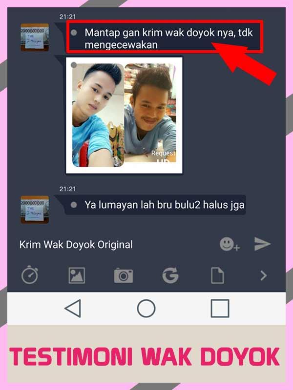 Review Lengkap Krim Penumbuh Rambut Wak Doyok